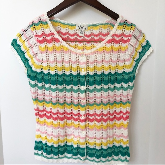 Lilly Pulitzer Sweaters - Adorable Lilly Pulitzer Pastel Knit Sweater